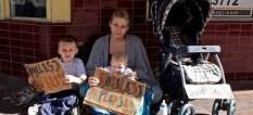 Homeless Family Pic